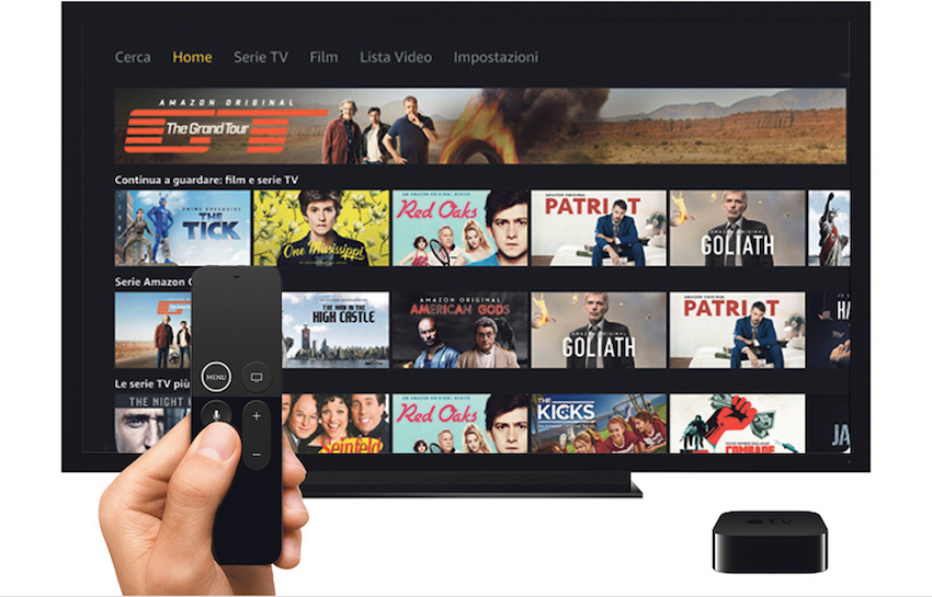 Amazon Prime Video e Music: i concorrenti dello streaming