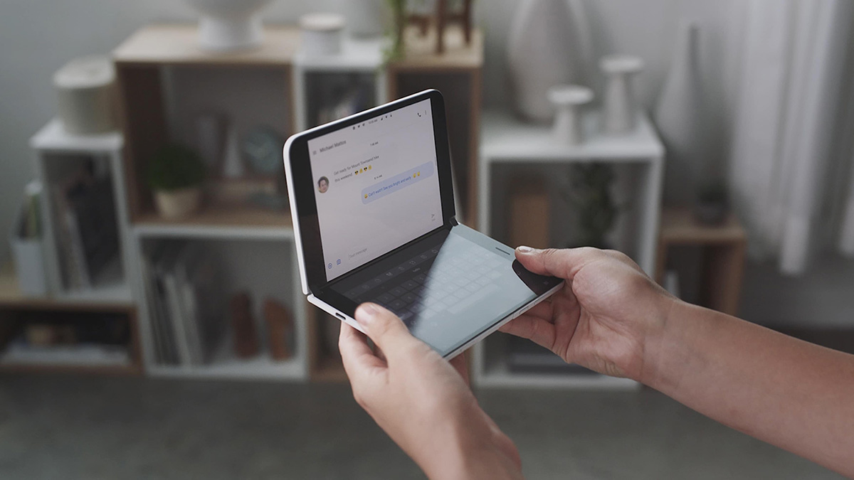 Arriva Surface Duo, il tablet pieghevole di Microsoft
